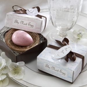 Nest Egg Soap Favour - Blue
