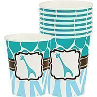 Wild Safari Blue Cups