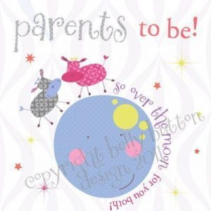 Parents to be Card