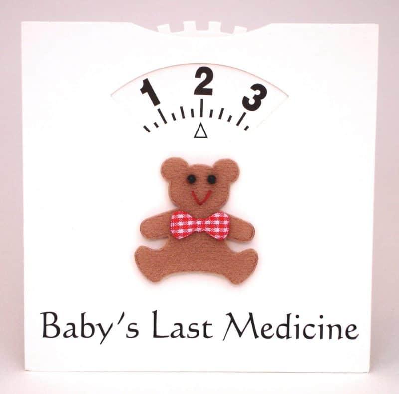Baby Medicine Wheel - Card