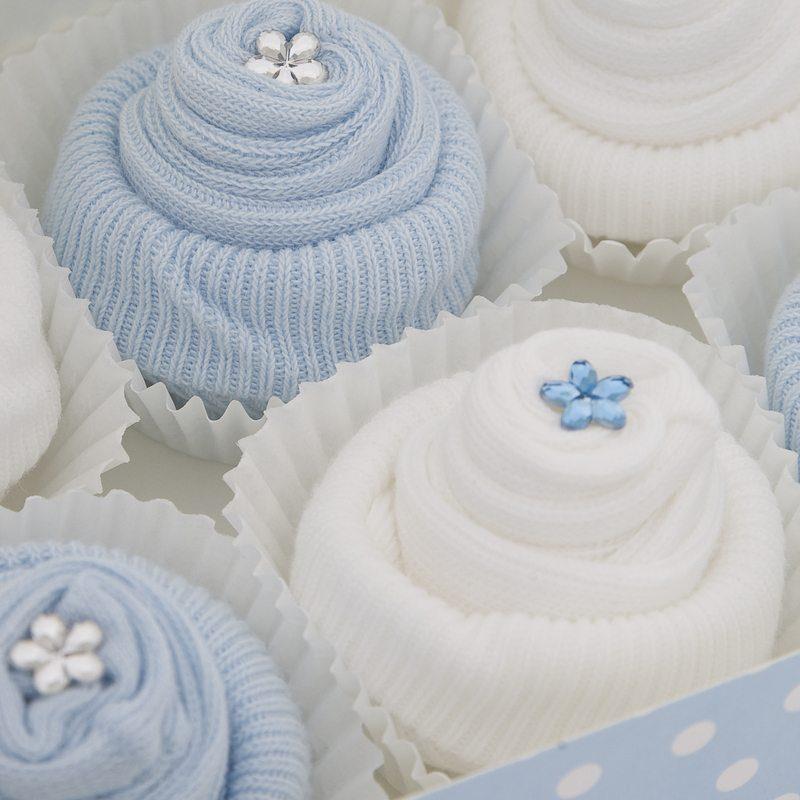 Boxed Fair Cake Socks (6) - Blue