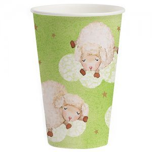 Ba Ba Baby Shower Cups x 8