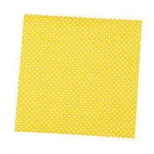 Polka Yellow Napkins