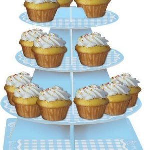 It's a Boy 3 Tier CupCake Stand