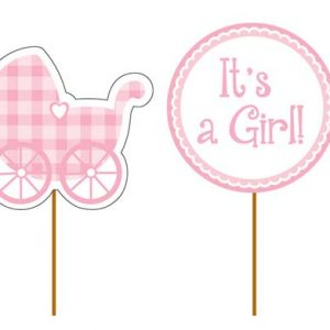 It's a Girl - Cupcake Picks