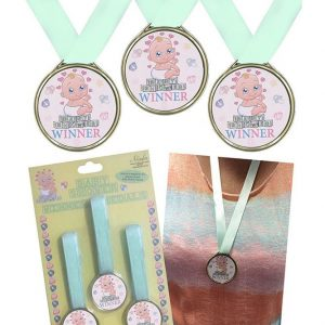 Baby Shower winner medals