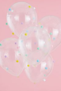 Pastel Party – Pom Pom Balloons