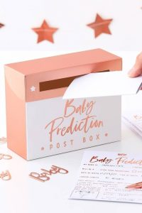Baby Shower Prediction Box Game