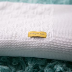 White Organic Cotton BlankieBoo