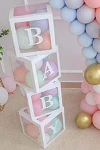 Baby Boxes with Balloons