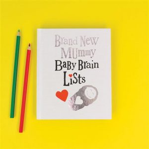 Brightside Baby Brain List Book **MULTI 6**