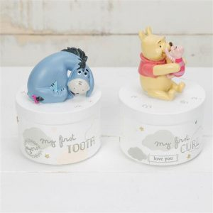 Disney Magical Beginnings Tooth & Curl Pots - Pooh and Eeyore
