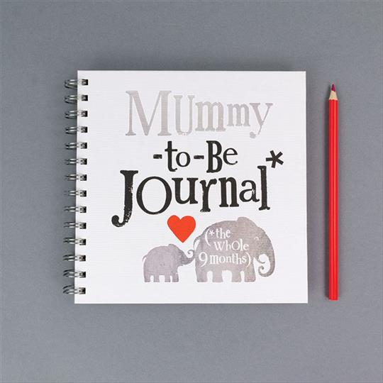 Brightside Mummy To Be Journal With Stickers